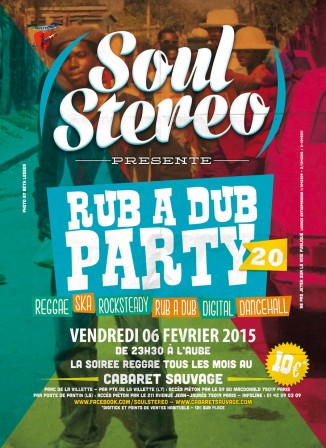 [75] - SOUL STEREO RUB A DUB PARTY #20
