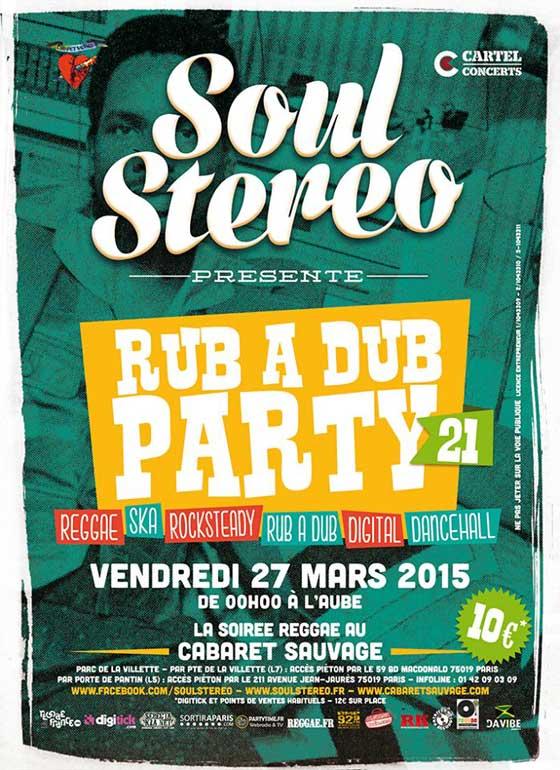 [75] - SOUL STEREO RUB A DUB PARTY #21