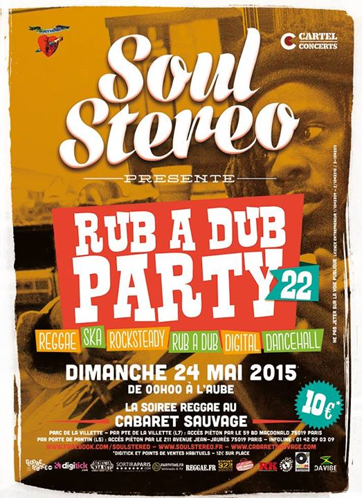 [75] - SOUL STEREO RUB A DUB PARTY #22
