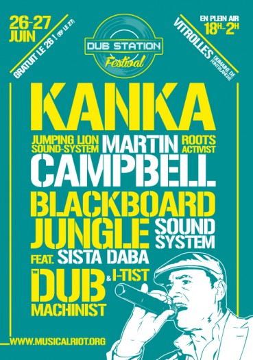 [13] - DUB STATION FESTIVAL - KANKA + BLACKBOARD JUNGLE SOUNDSYSTEM + THE DUB MACHINIST & I-TIST + SISTA DABA + JUMPING LION SOUNDSYSTEM