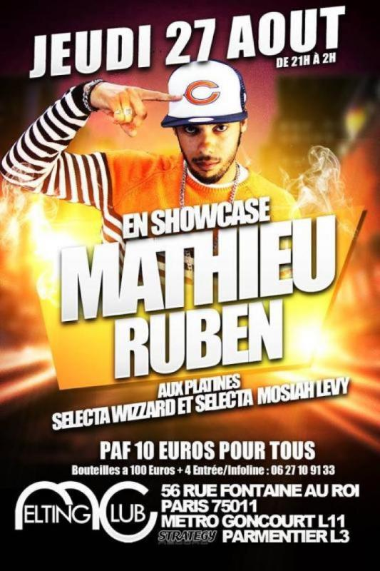 [75] - SHOWCASE - MATHIEU RUBEN