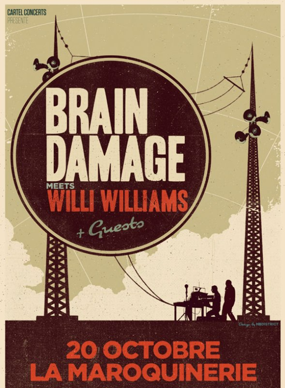 [75] - BRAIN DAMAGE feat. WILLI WILLIAMS & GUESTS