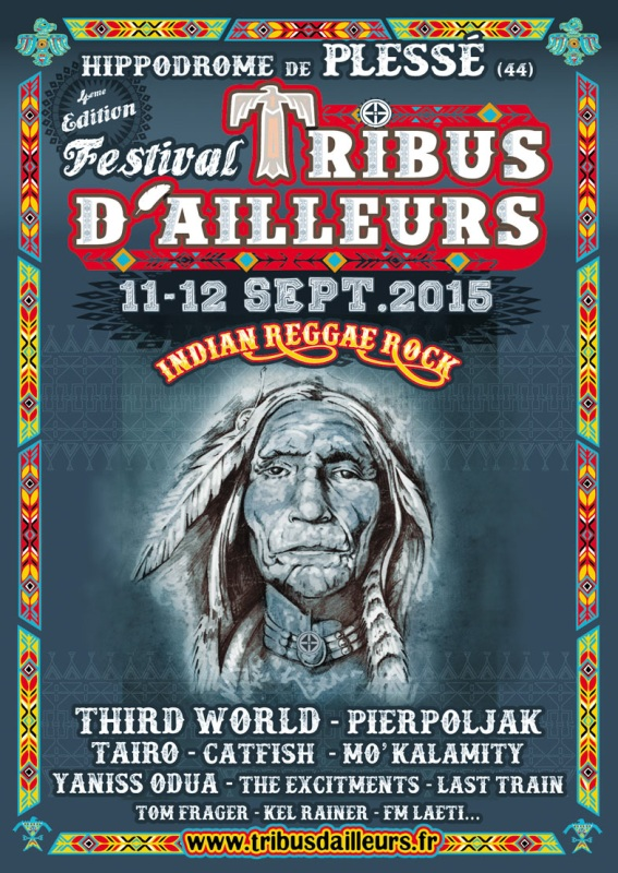 [44] - FESTIVAL TRIBUS D'AILLEURS - YANISS ODUA + TAÏRO + MO'KALAMITY + TOM FRAGER + THE EXCITEMENTS + SAX MACHINE + CAP ROOTS