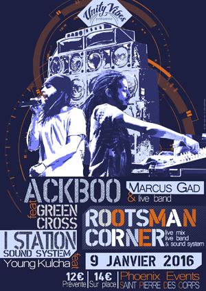 [37] - ROOTSMAN CORNER #1 - MARCUS GAD - ACKBOO feat. GREEN CROSS - I-STATION SOUND SYSTEM
