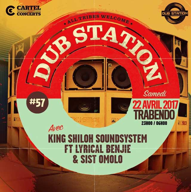 [75] - DUB STATION #57 - KING SHILOH SOUNDSYSTEM feat. LYRICAL BENJIE & SIST OMOLO