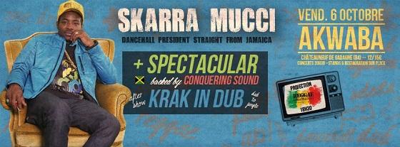 [84] - SKARRA MUCCI + SPECTACULAR + KRAK IN DUB