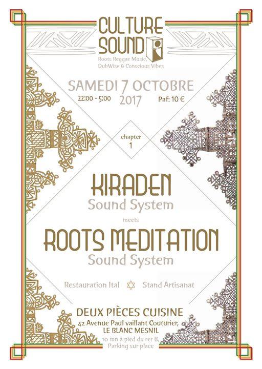 [93] - CULTURE SOUND #1 - ROOTS MEDITATION & KIRADEN