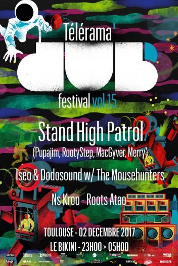 [31] - TELERAMA DUB FESTIVAL #15 - STAND HIGH PATROL + ISEO & DODOSOUND w/ THE MOUSEHUNTERS