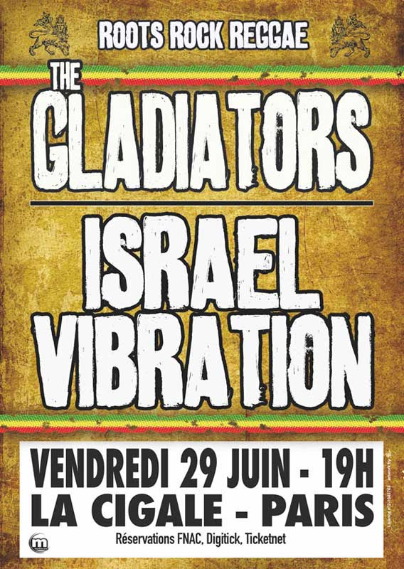 [75] - ISRAEL VIBRATION + THE GLADIATORS