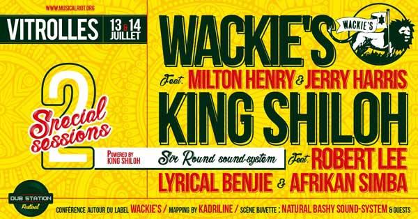 [13] - DUB STATION FESTIVAL 2018 - KING SHILOH SOUNDSYSTEM feat. LYRICAL BENJIE + ROBERT LEE & AFRIKAN SIMBA