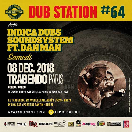 [75] - DUB STATION #64 - INDICA DUBS SOUND SYSTEM