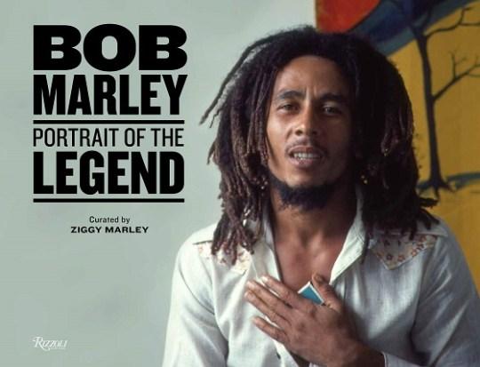 bob marley portrait of the legend