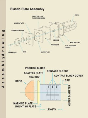 Rotary Cam Switch Wiring Diagram For Change Over   Wiring