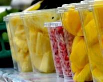 Vendor fruits in Salalah