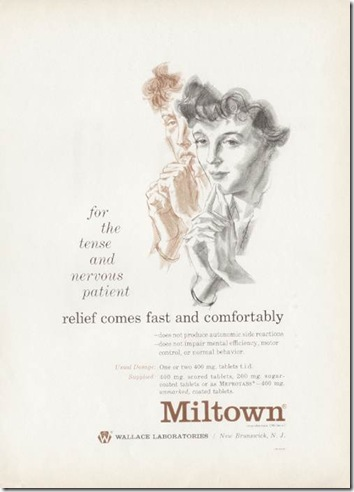 MiltownHomemakersVintageAd1950
