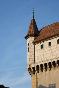 Angle du chateau d'Annecy