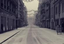 nuit d'hiver à Annecy