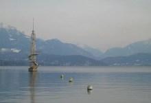 Calme plat sur le lac