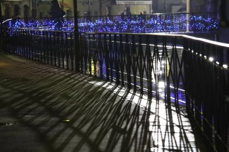 Lumières de la nuit à Annecy