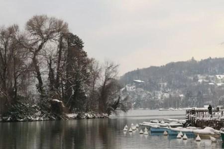 Couleurs d'hiver sur le lac