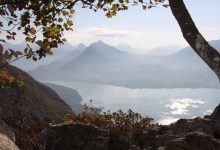lac annecy automne