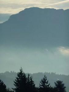 matin sur les montagnes