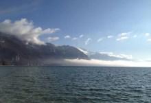 lac annecy en hiver