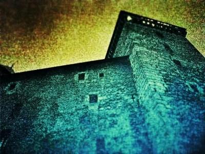annecy, le chateau au dessus de la vieille ville