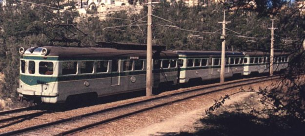 Tren saliendo de La Floresta (1971)
