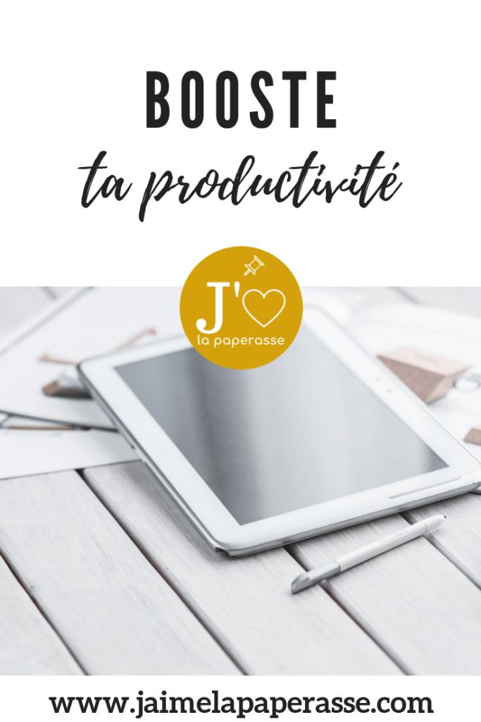 Booste ta productivité grâce à ces 10 astuces simples #jaimelapaperasse #entreprendre #autoentrepreneur #microentrepreneur #autoentreprise #microentreprise #freelance #creation #entreprise #independant #solopreneur #mompreneur #motivation #organisation #productivite