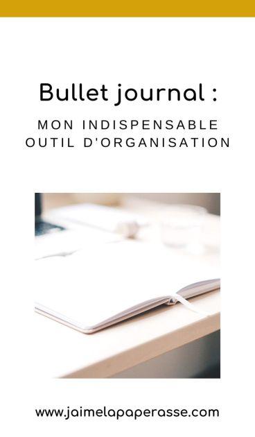 Le bullet journal ou bujo peut être un formidable outil d'organisation au quotidien, bien moins contraignant que ce que l'on croit ! Pourquoi pas l'essayer ? Découvre un exemple de bujo et comment tu peux l'adapter à tes besoins. Un article de J'aime la paperasse #organisation #bulletjournal