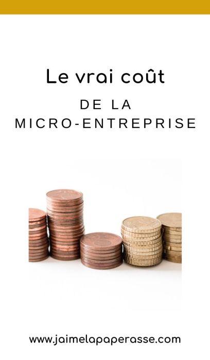 Combien ça coute la micro-entreprise, en vrai ? Est-ce vraiment gratuit de devenir autoentrepreneur ? Réponses dans cet article de J'aime la paperasse. #entrepreneuriat #businesstips