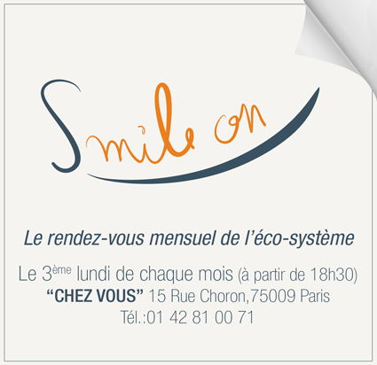 """Smile on"" smile on ""chez vous"""