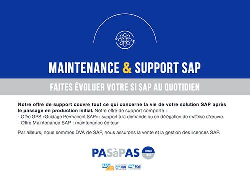 Maintenance Support SAP