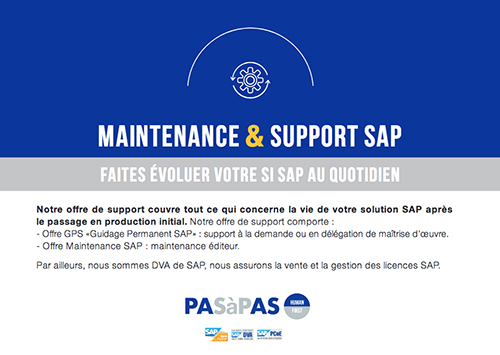 Maintenance Support SAP