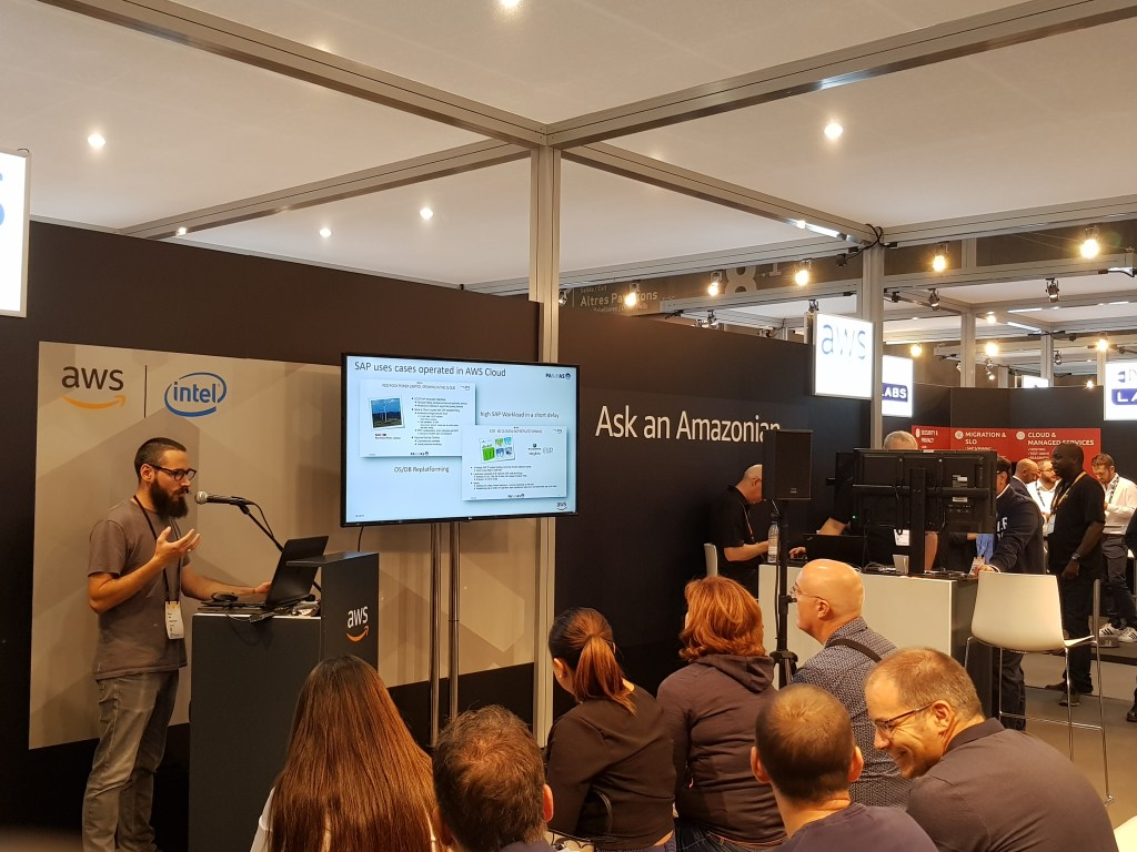 SAP TECHED BARCELONE AWS