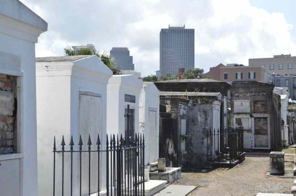 You may pick up a New Orleans Curse from walking through one of the cemeteries of the area.