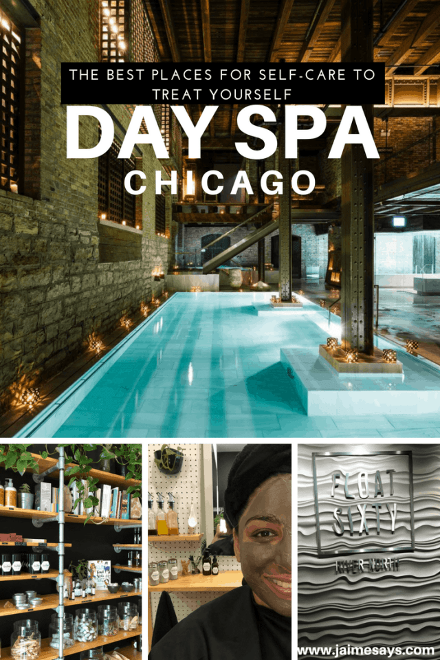 day spa Chicago | Chicago Day Spa | Self Care Chicago| JaimeSays Blog | Chicago Blogger| Travel Blogger | Quiet Travel | Chicago Spa Day