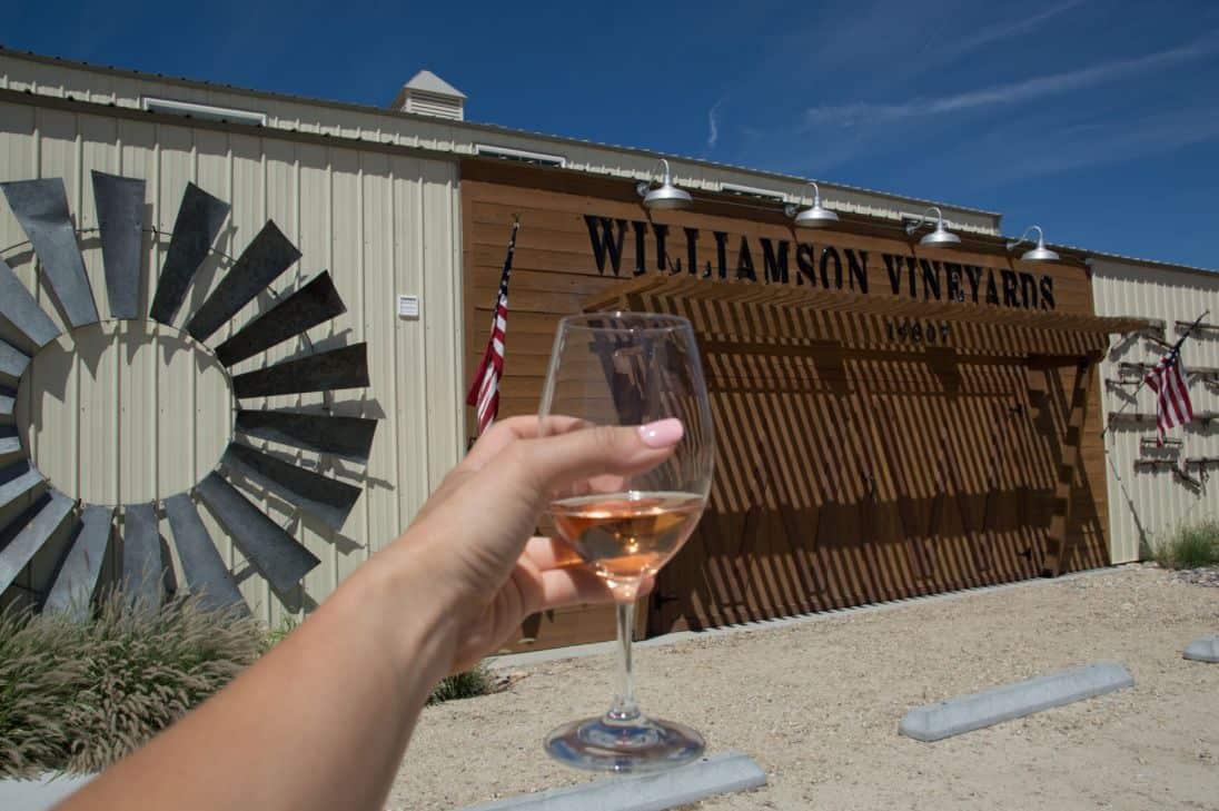 What to expect on the Sunnyslope wine trail outside of Boise, Idaho, in Caldwell, Idaho.