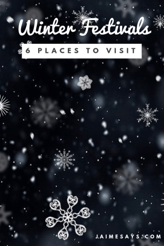 Looking for a fun place for a Winter Festival? Check out this list of fun Winter Carnivals and Winter Festivals throughout North America.