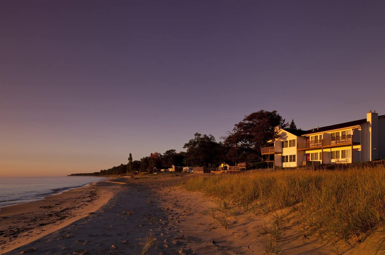 Huron House is a great spot for a quick Michigan getaway.