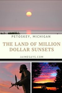 Ever wanted to visit the land of Million Dollar Sunsets? See what things there are to do in Petoskey Michigan this summer.
