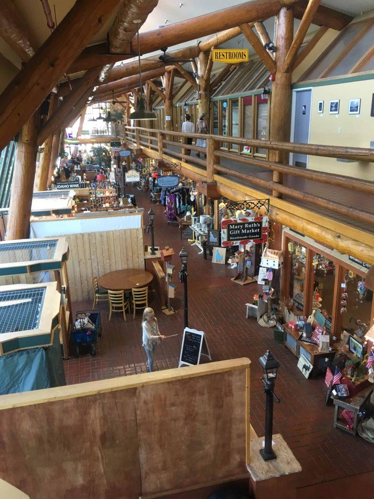Cedark Street Bridge Public Market in Sandpoint Idaho