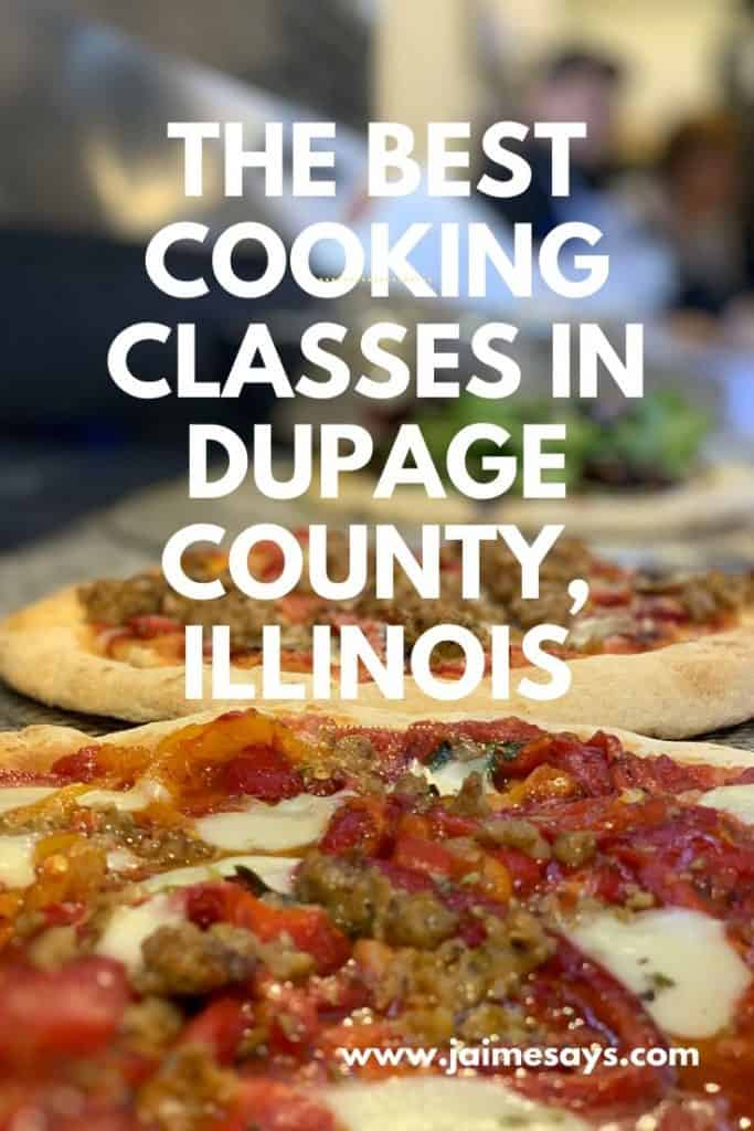 pizza classes and cooking classes in Dupage county