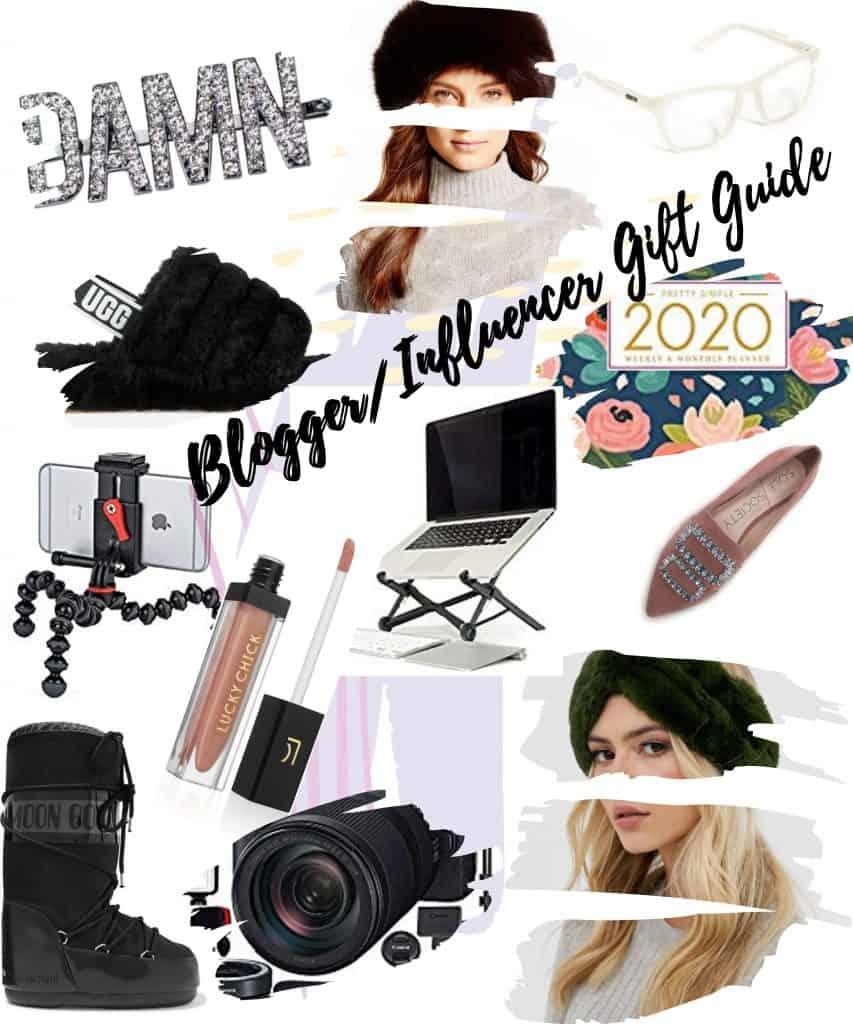 blogger influencer gift guide