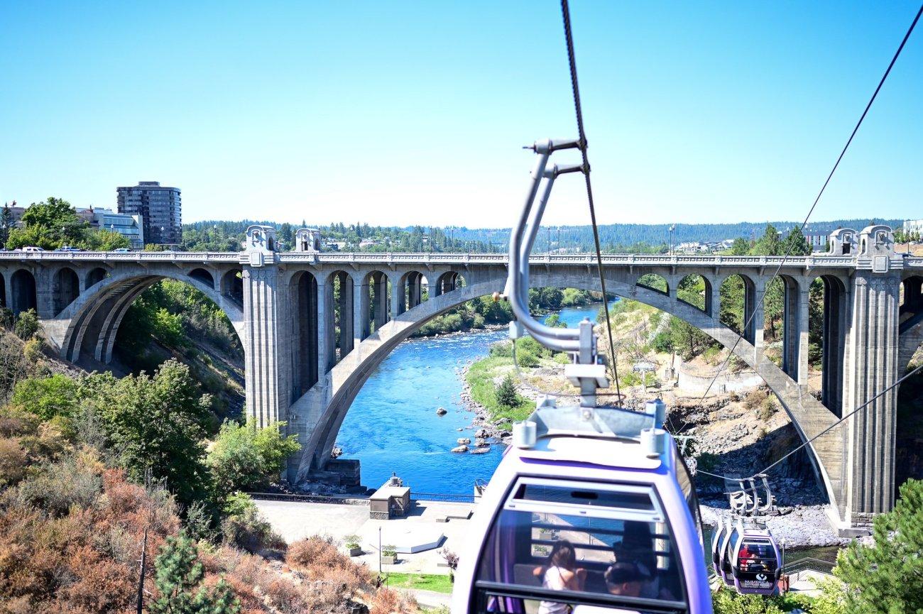 Funicular at Spokane Falls