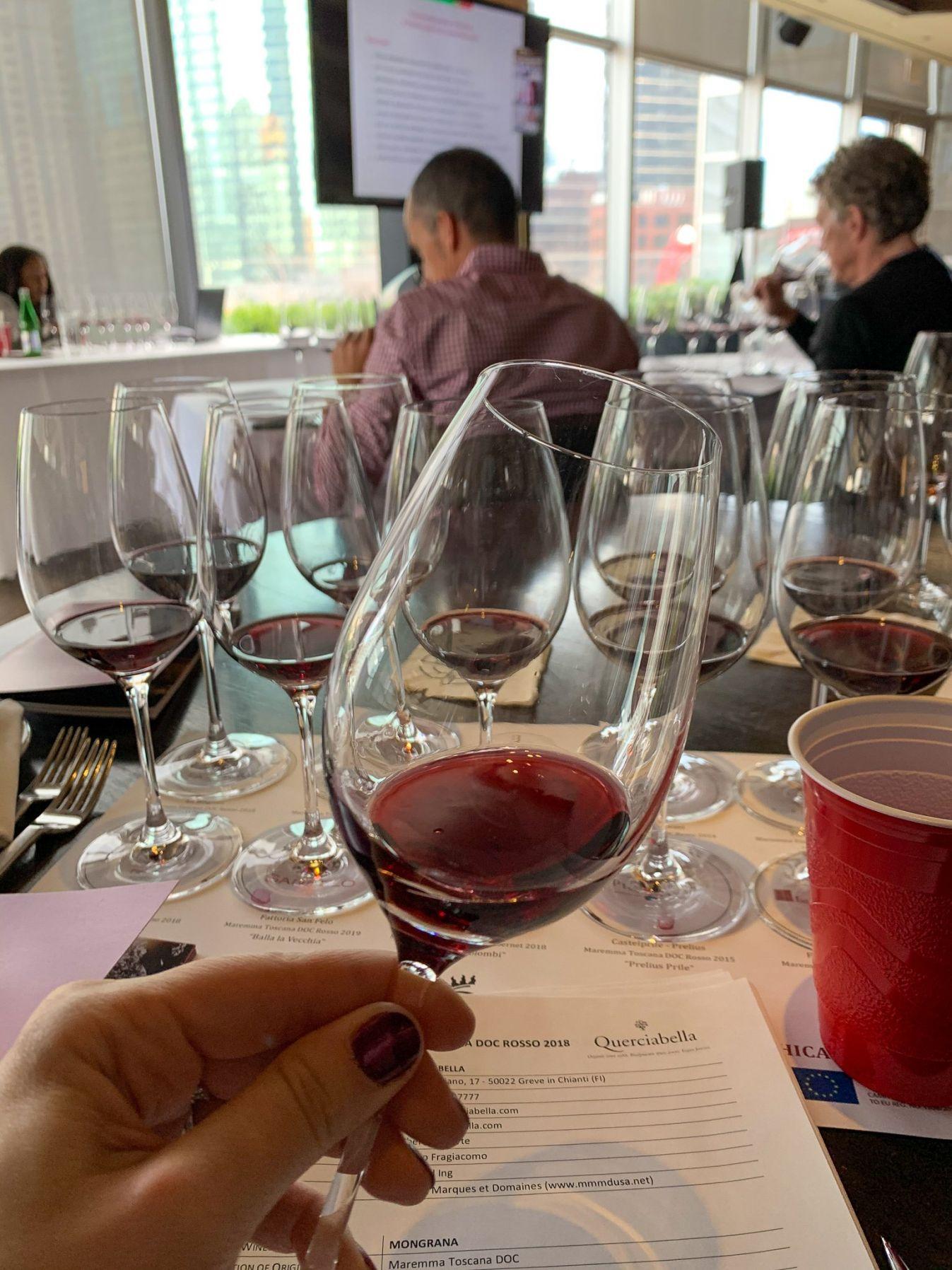 6 Things I Learned  at the 2021 Maremma Toscana Wines of Tuscany Tasting