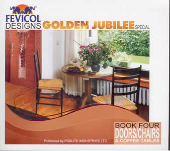 Fevicol Designs Golden Jubilee Special   Vol  4  Doors Chairs     Fevicol Designs Golden Jubilee Special   Vol  4  Doors Chairs   Coffee  Tables   Buy online now at Jain Book Agency  Delhi based book store