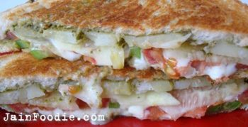Jain Mumbai Vegetable Sandwich