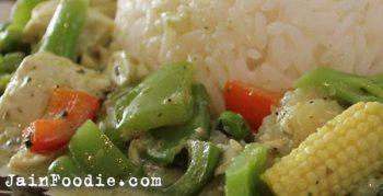 Jain Thai Green Curry
